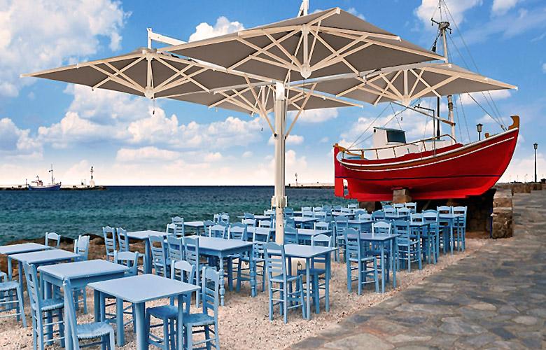 arredamento sedie tavoli ombrelloni