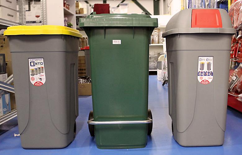 prodotti pulizia raccolta differenziata