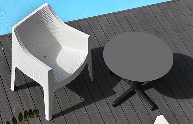 sedia tavolo piscina