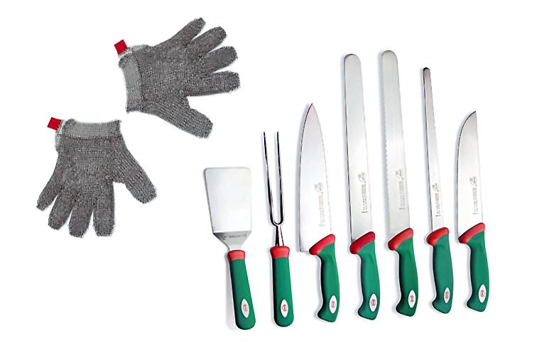 coltelli guanto