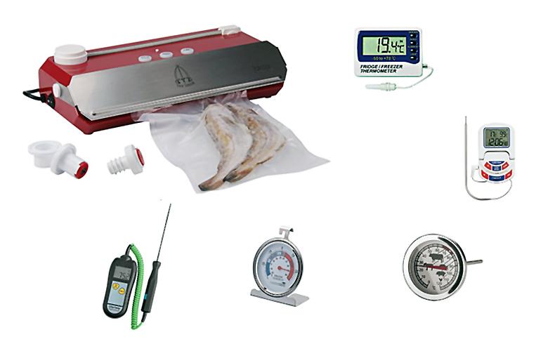 cucina sottovuoto termometri
